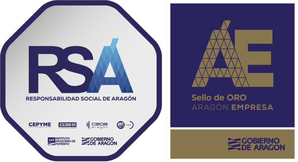 Logos RSA y Sello Oro